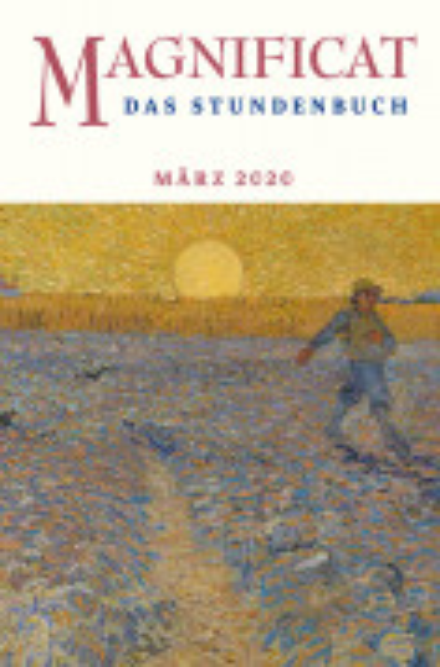 """MAGNIFICAT März 2020 (als digitale Ausgabe) Thema des Monats: """"Mit den Psalmen bitten"""""""