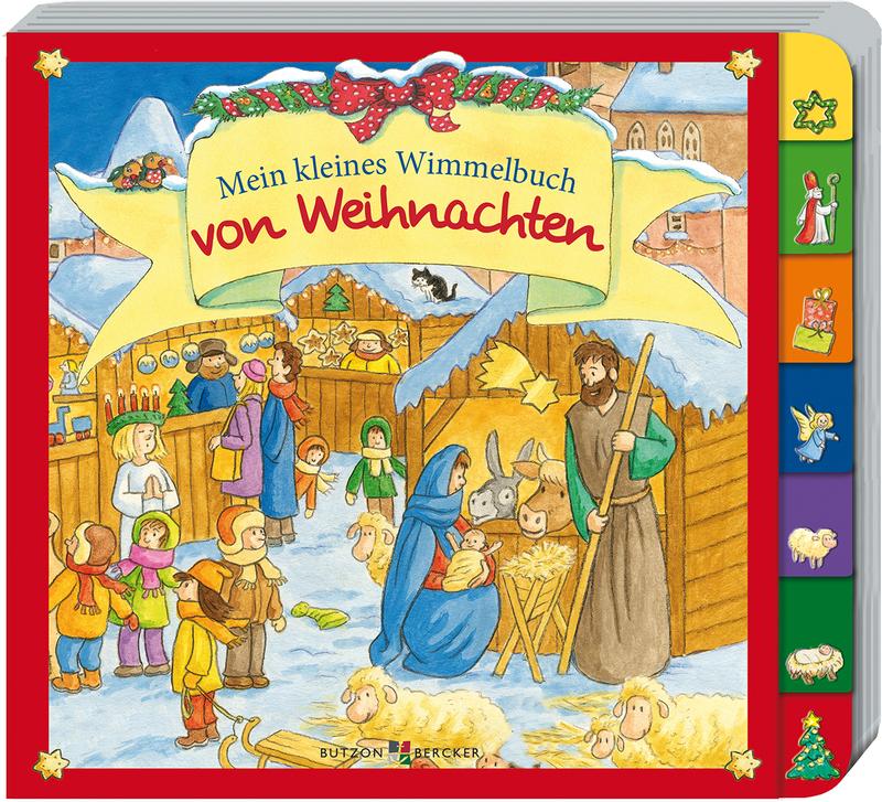 Wimmelbuch Weihnachten.Mein Kleines Wimmelbuch Von Weihnachten