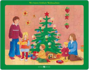Puzzle: Wir feiern fröhlich Weihnachten