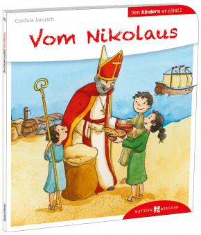 Vom Nikolaus den Kindern erzählt