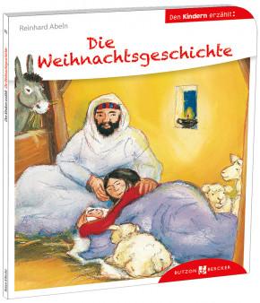 Die Weihnachtsgeschichte den Kindern erzählt